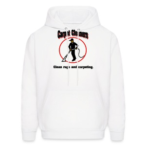 Carpet Cleaners Men's Hooded Sweatshirt - Men's Hoodie