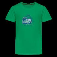 Kids' Shirts ~ Kids' Premium T-Shirt ~ Jeep Mountain Bike Overpass