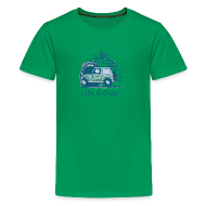 Kids' Shirts ~ Kids' Premium T-Shirt ~ Jeep Mountain Bike Overpass
