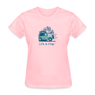 T-Shirts ~ Women's T-Shirt ~ Jeep Mountain Bike Overpass