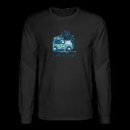 Long Sleeve Shirts ~ Men's Long Sleeve T-Shirt ~ Jeep Mtn Bike Overpass - Mens