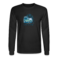 Long Sleeve Shirts ~ Men's Long Sleeve T-Shirt ~ Jeep Mtn Bike Overpass - Mens