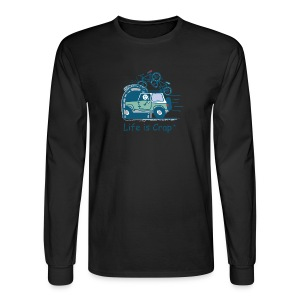 Jeep Mtn Bike Overpass - Mens - Men's Long Sleeve T-Shirt