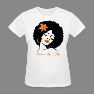Naturally Fly Diva - Women's T-Shirt