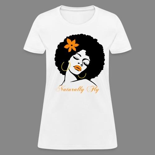 Naturally Fly Diva - Women's T-Shirt