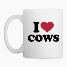 I love Cows Bottles & Mugs