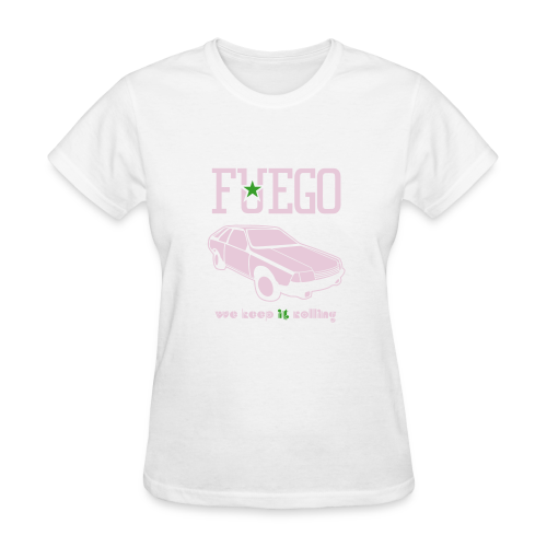 Rogue Fuego With (Pink/Green) - Women's T-Shirt