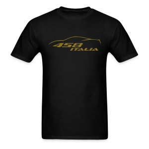 Ferrari 458 Italia (gold) - Men's T-Shirt
