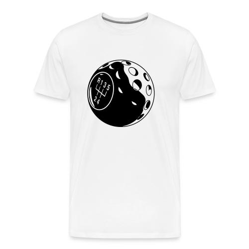 Golf Ball Shifter black print - Men's Premium T-Shirt