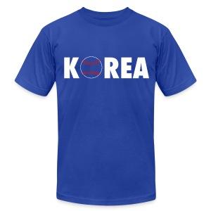 Korea Baseball - Men's Fine Jersey T-Shirt