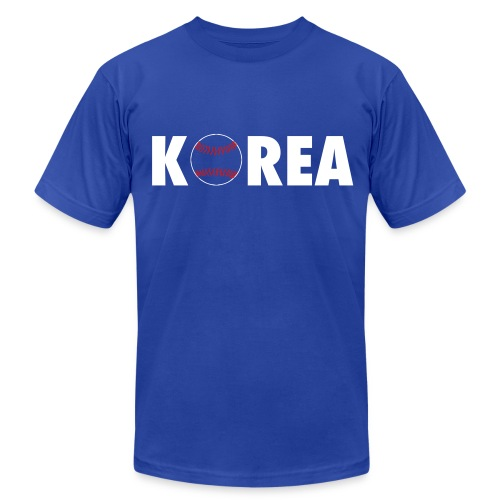 Korea Baseball - Men's Fine Jersey T-Shirt