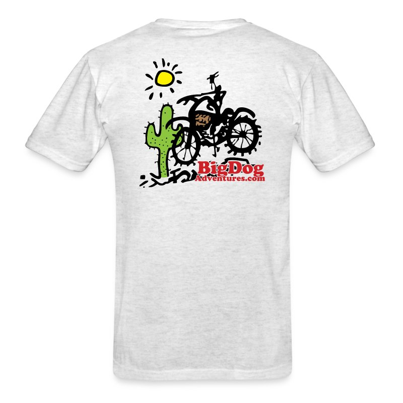 Big Dog Adventures - Men's T-Shirt