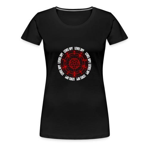 LUCIUS LEVEL UP RED - Women's Premium T-Shirt