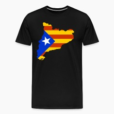 Catalonia map with flag Shirt