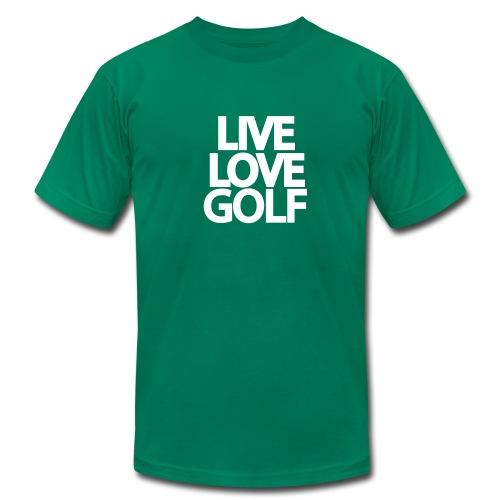 Preserve Sugarloaf - Oppose Firing Range - Men's LiveLoveGolf T-Shirt in Various Colors - Men's Fine Jersey T-Shirt