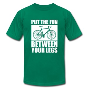 Put The  Fun Between Your Legs - Men's Fine Jersey T-Shirt