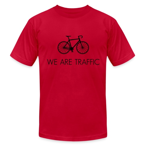 We Are Traffic - Men's Fine Jersey T-Shirt