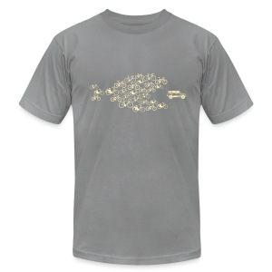 Bike Swarm - Men's Fine Jersey T-Shirt