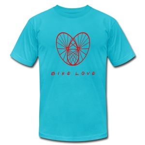 Bike Heart - Men's Fine Jersey T-Shirt