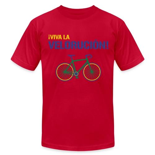 Viva la Velorucion - Men's Fine Jersey T-Shirt