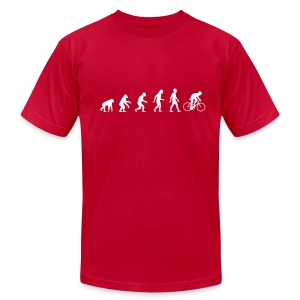 Evolution Road - Men's Fine Jersey T-Shirt