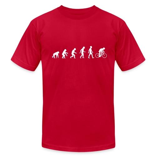 Evolution Road - Men's Fine Jersey T-Shirt