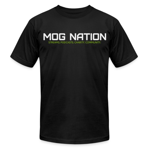 What is Mog Nation Athletic T - Men's Fine Jersey T-Shirt
