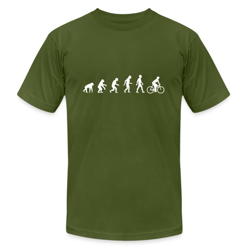 Evolution Bike - Men's  Jersey T-Shirt