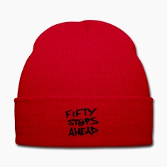 Classic FIFTY STEPS AHEAD Knitted Cap