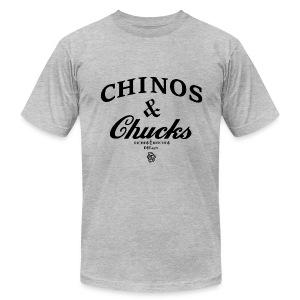 CHINOS & CHUCKS TEE - Men's Fine Jersey T-Shirt