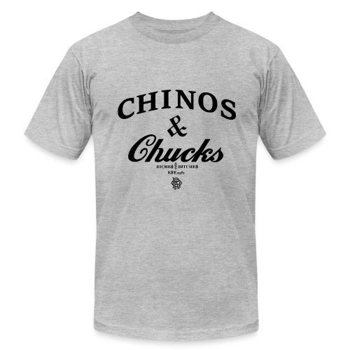 CHINOS & CHUCKS TEE - Men's Fine Jersey T-Shirt