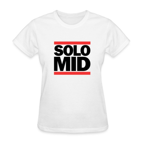 Mid Solo shirt dota2 - for female gamers - Women's T-Shirt