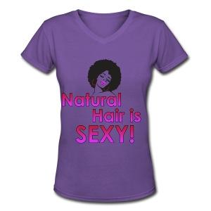 natural sexy - Women's V-Neck T-Shirt