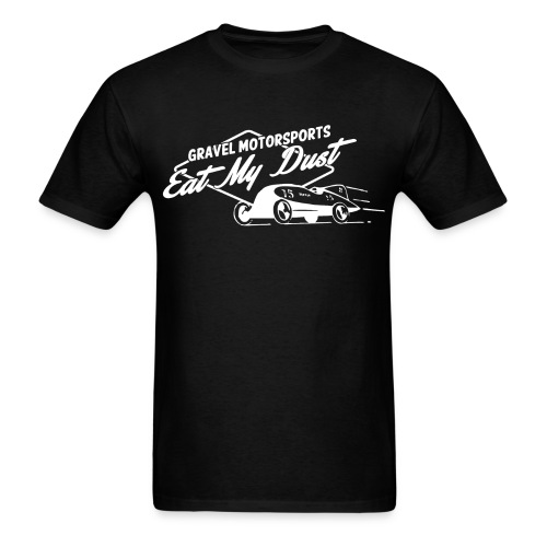 Eat My Dust Retro T-Shirt - Men's T-Shirt