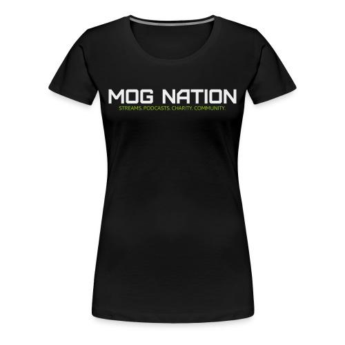 What is Mog Nation T Womens - Women's Premium T-Shirt