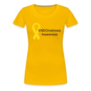 Endometriosis Awareness - Women's Premium T-Shirt