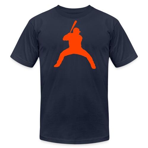 Bagwell Orange - Men's Fine Jersey T-Shirt