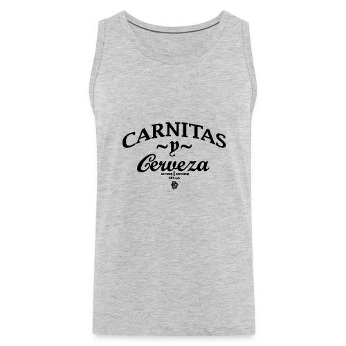 CARNITAS y CERVEZA TANK - Men's Premium Tank