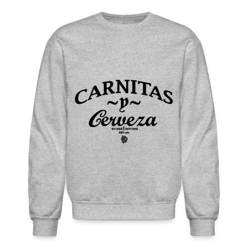 CARNITAS y CERVEZA CREW - Crewneck Sweatshirt