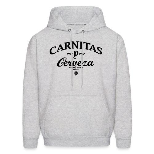 CARNITAS y CERVEZA HOOD - Men's Hoodie