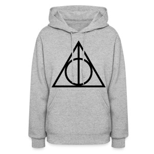 Deathly Hallows Symbol - Women's Hoodie