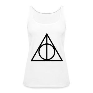 Deathly Hallows Symbol - Women's Premium Tank Top