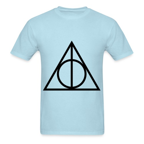 Deathly Hallows Symbol - Men's T-Shirt