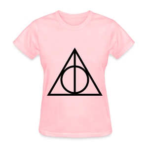 Deathly Hallows Symbol - Women's T-Shirt