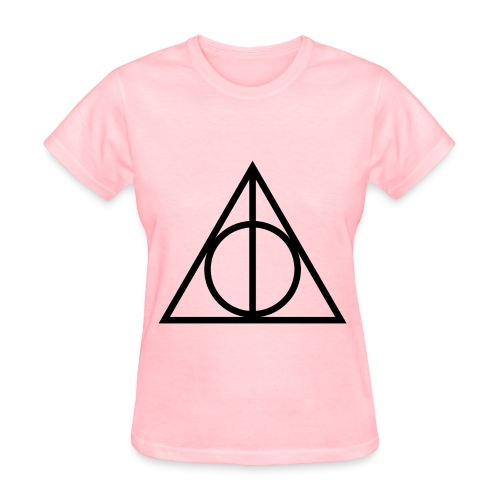 Deathly Hallows Symbol - Women's T-Shirt
