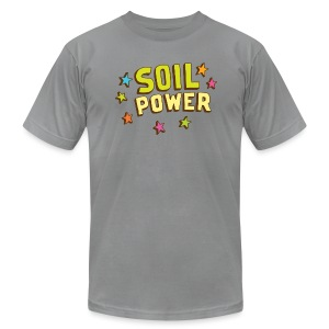 Soil Power - Unisex - Men's T-Shirt by American Apparel