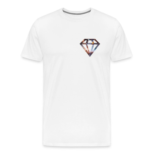 Diamond Heart Tee - Men's Premium T-Shirt