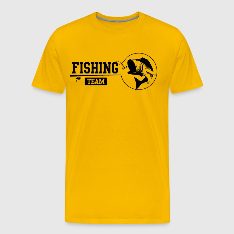 Fishing team t shirt spreadshirt for Fishing team shirts