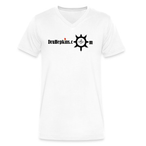 Dru Hepkins Logo  - Men's V-Neck T-Shirt by Canvas