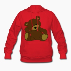 Teddy, Teddy Bear, stuffed animal Hoodies